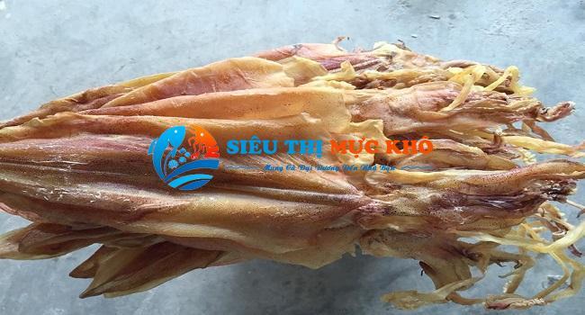 Giá mực khô tại Nghệ An
